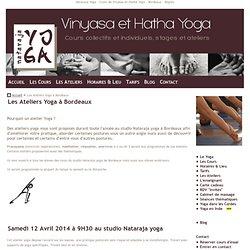 Atelier Yoga Bordeaux Bègles