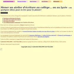 AtelierEcriture