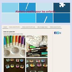 Ateliers année 2012-2013 - Site de atelierscreatifsenfantsmeudon !
