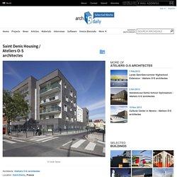 Saint Denis Housing / Ateliers O-S architectes