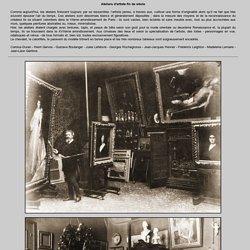 Ateliers d'artiste fin de siècle