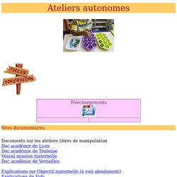 ateliers autonomes
