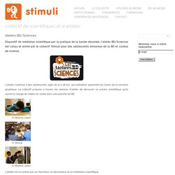 Ateliers BD/Sciences « stimuli