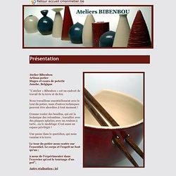 Ateliers Bibenbou, poterie artisanale, cours et stages de poterie à Jauche en Belgique