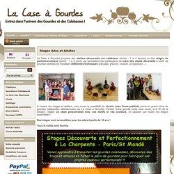 Stages et Ateliers Calebasse par La Case à Gourdes