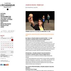 28 et 29 mai, 1er juin : représentations de l'atelier théâtre à L'Echangeur