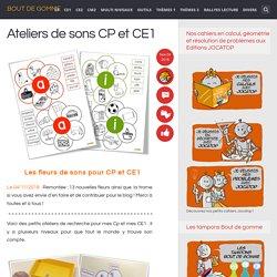 Ateliers de sons CP et CE1
