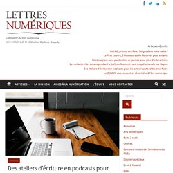 Des ateliers d'écriture en podcasts pour les auteurs autoédités avec Kobo