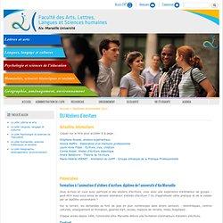 Faculté des Arts, Lettres, Langues, Sciences humaines