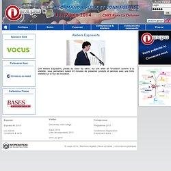 13-14 juin 2012 - salon information, veille, connaissance - i-expo 2012