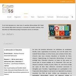 Ateliers - Forum Belge Francophone des Sciences Sociales