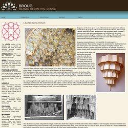 Talleres: Diseño Geométrico islámica [Más: mocárabes]