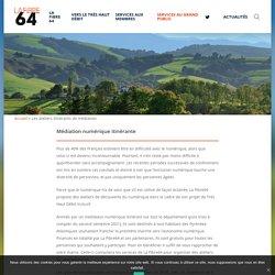 Les ateliers itinérants de médiation - La Fibre64