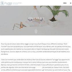 Ateliers DIY - hygge.ch - Mobilier nordique et ateliers créatifs