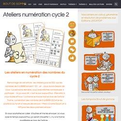 Ateliers numération cycle 2