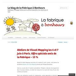 Ateliers de Visual Mapping les 6 et 7 juin à Paris. Offre spéciale amis de la Fabrique – 15 %