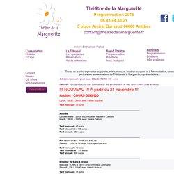 Cours du Théâtre de la Marguertie - Antibes
