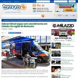 Sebrae Móvel segue com atendimento em cidades da região de Botucatu