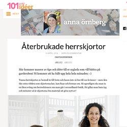 Återbrukade herrskjortor – Anna Örnberg