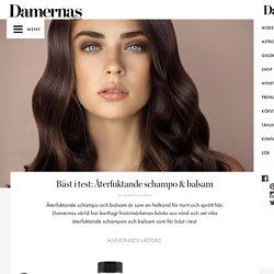 » Bäst i test: Återfuktande schampo & balsam – Damernas Värld