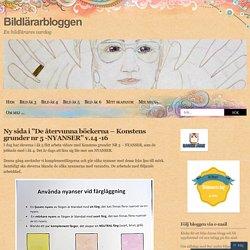 """Ny sida i """"De återvunna böckerna – Konstens grunder nr 5 -NYANSER"""" v.14 -16"""