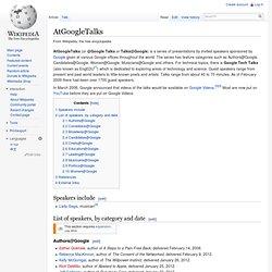 AtGoogleTalks