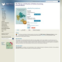 Athabasca University Press - The Theory and Practice of Online Learning