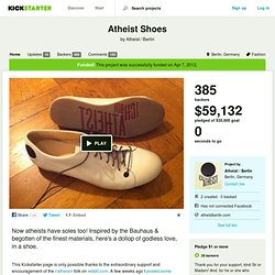 Atheist Shoes by Atheist / Berlin