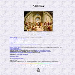 ATHENA: Literature, Books; Pierre Perroud