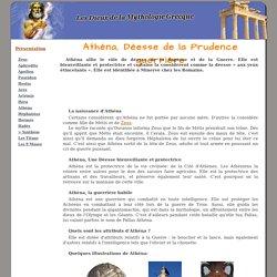 Athéna - Déesse de la prudence guerrière
