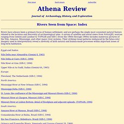 Athena Review: Rivers Seen from Space: Index