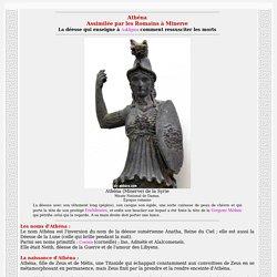 Athéna la déesse de la sagesse et de la guerre, Minerve des romains
