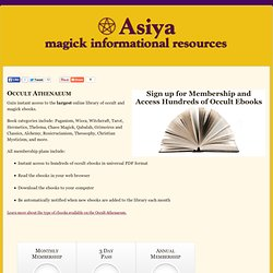 Chaos Magick PDFs