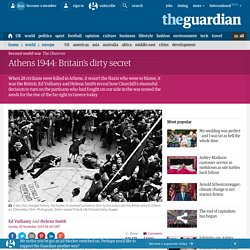 Athens 1944: Britain's dirty secret