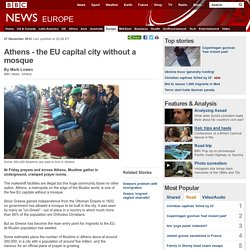 Athens - the EU capital city without a mosque