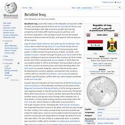 Ba'athist Iraq