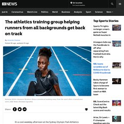 The athletics training group helping runners from all backgrounds get back on track