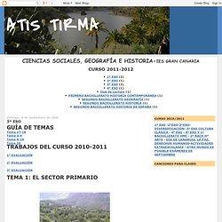 ATIS TIRMA: 3º ESO