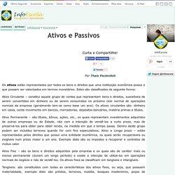 Ativos e Passivos