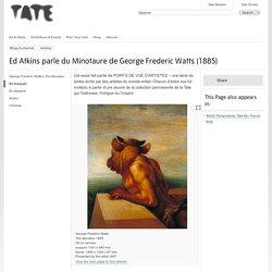 George Frederic Watts, Le minotaure (1885)