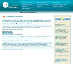 Atlanpole Biotherapies / Menu interne / Dossier de paramétrage / Atlanpole Biotherapies