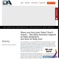 Atlanta Data Recovery Expert