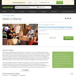 Atlanta Deals: Coupons on Cheap Things to Do in ATL