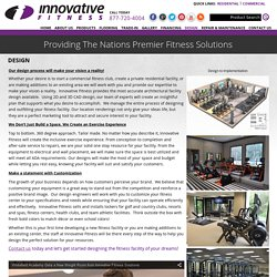 Atlanta Fitness Facility Center Design - Innovative Fitness