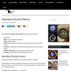 Atlantean Puzzle Pieces