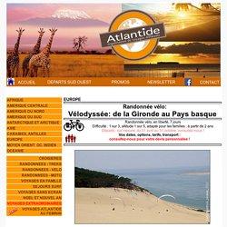 Atlantide - Voyages ; France, rando vélo Bassin d'Arcachon 8j