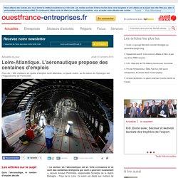 Loire-Atlantique. L'aéronautique propose des centaines d'emplois