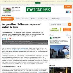 """Loire-Atlantique : les premières """"éoliennes citoyennes"""" sortent de terre"""