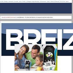 BREIZH INFO 21/09/16 Loire-Atlantique. « En direct des éleveurs » la marque de lait des circuits courts