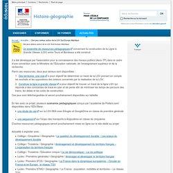 Des ressources et des exemples de scénarios sur la LGV (Eduscol)